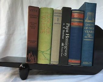 1920's Art Deco Bookstands Black Lacquer Table Top Pair