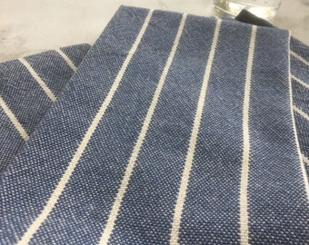Handwoven Speckled Stripe Kitchen Towel