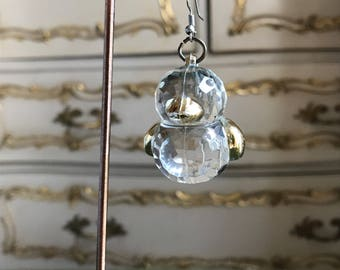 Upcycled Duckie Drop Single Earring
