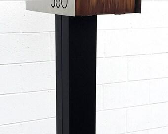 "MODERN MAILBOX POST - 6"" square"