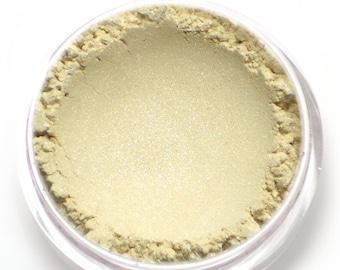 "Cream Frost Eyeshadow - ""Buttercream"" - Ivory White Vegan Mineral Eyeshadow"