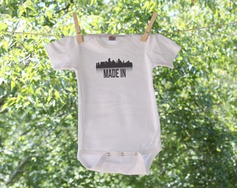 Made In Miami Florida Infant Bodysuit