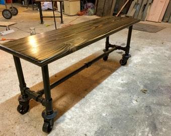 Wonderful Industrial Pipe Coffee Table