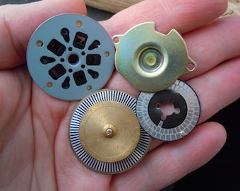 Mixed Lot. Recycled Computer Parts Steampunk. Industrial. Jewelry Supply. M-9