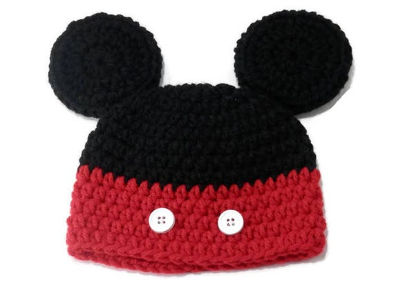 Mickey Mouse Hat Baby Mickey Hat Mouse Ears Mickey Mouse