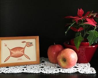 Original drawing» Roe Deer «