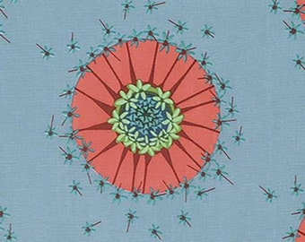 Mod Corsage Quilt Fabric by Anna Maria Horner, Centered in the Sky, Sold by Fat Quarter, Half Yard or Yard