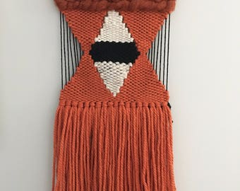 Burnt Sienna weaving (small)