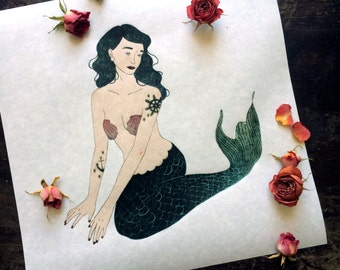 Mermaid Giclée Print