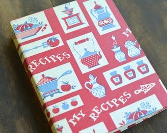 Cookbook Personal Recipe Collection Cookbook Vintage Cookbook