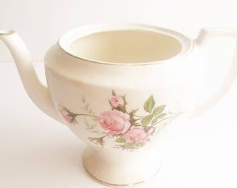 Vintage Rose Teapot