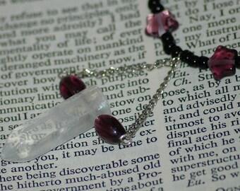 Dark Crystal necklace