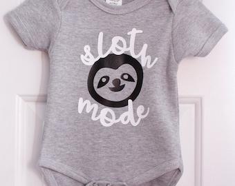Sloth Mode Baby Shirt