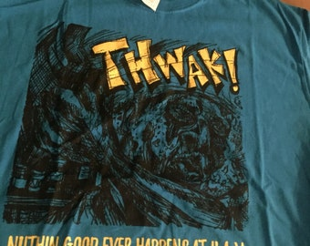 Zombie Attack! THAWK! Graphic Tee