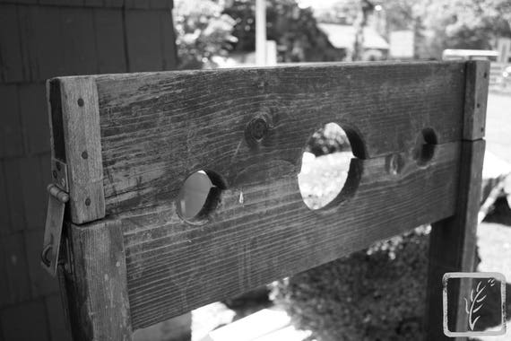 """In the Stocks,"" Kissam House, Huntington, New York, 2016."