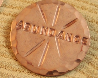 Positive Change Medallion: Abundance