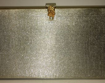 Vintage Gold Lame Evening Purse