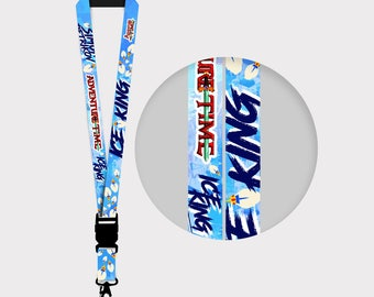 Adventure Time Ice King Lanyards
