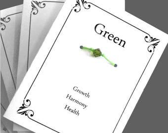 Green Wish Bracelet, Inspirational Gift, For Friend, BFF, Best Friends,Party Gift, Make A Wish Bracelet, Wedding Favour, birthday Present,