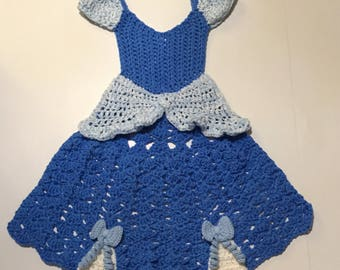 Blue Princess Dress Blanket