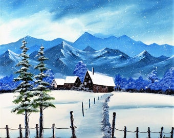 Mountain Lodge, winter