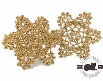 Crochet Snowflake Pattern, Crochet Christmas Ornament Pattern, Christmas PDF Pattern, Crochet Christmas Pattern, Instant Download /8002/