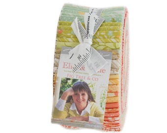 Ella and Ollie Jelly Roll - Fig Tree Fabric Jelly Roll -  Moda Jelly Roll Fabric For Quilting - Fabric Strips