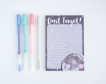 Notepad  - Don't Forget! - To Do List Notepad - A6 Desk Pad