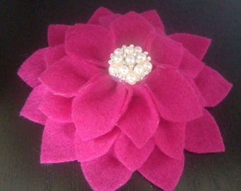 Flower Kippah for women