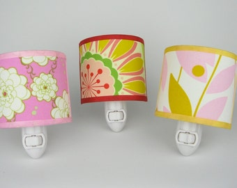 Happy Floral Nightlight - choose one