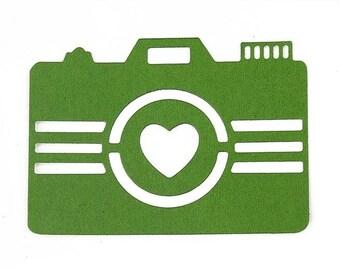 Cut scrapbooking camera
