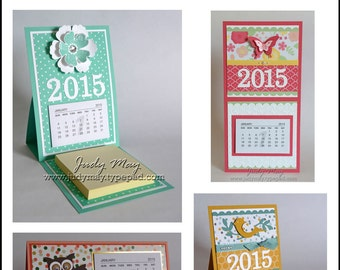 Craft Tutorial - Mini Calendar Projects Tutorial