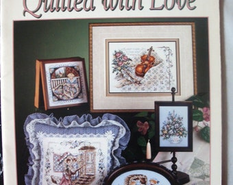 """Booklet N 112 """"Quilted with love"""" Stoney Creek (cross stitch)"""
