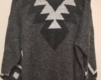 Vintage Acrylic Sweater Size L?