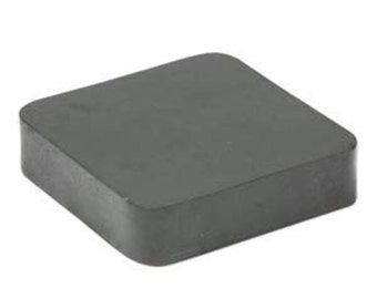 Bench Block-Rubber 4 x 4 x 1 -Great for Jewelry Stampers-