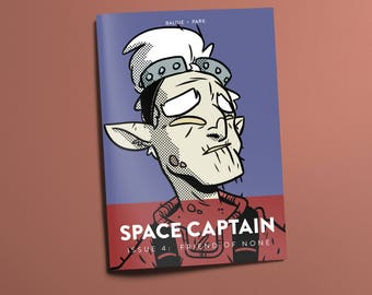 Space Captain: Captain Of Space #4