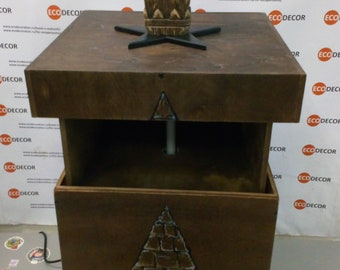 Box with a lift (RFID)