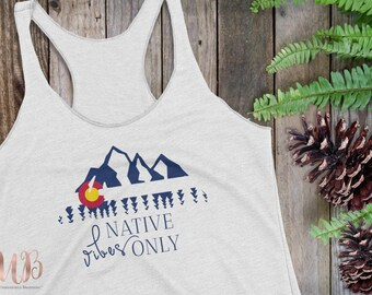 Native Vibes Only Women's Tank Top