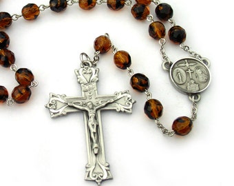 Catholic Rosary for Men Prayer Beads