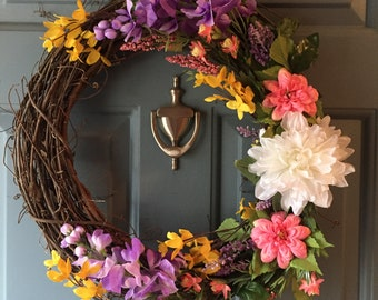 Bright Spring Wreath