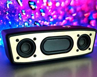 Bluetooth Speaker Bluetooth Boombox Portable Speaker Wireless Speaker Wooden Boombox Wooden Speaker Portable Boombox Phone Speaker Wireless
