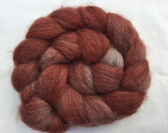 Hand Dyed Teeswater wool tops