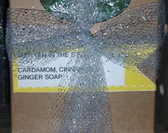 Cardamom, Cinnamon & Ginger Soap!