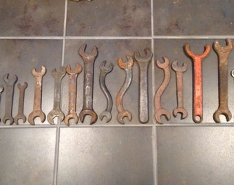 Vintage Tools -Wrenches