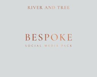 Social Media Pack, Social Media Template, Social Media Icons, Social Media Post, Instagram Template, Facebook Cover, Twitter Header