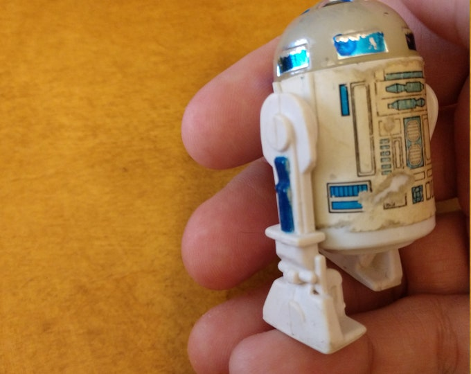 Rare Vintage Figure - 1977 LFL Kenner Action Figure R2-D2 - Star Wars  A New Hope