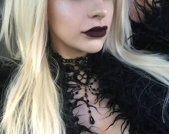 Scene Straight Layered Wig in Platinum Blonde