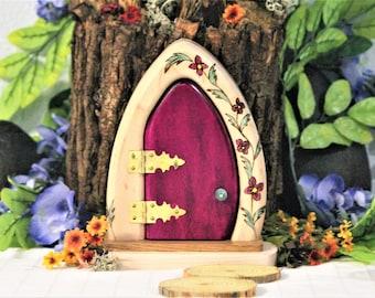 Deep Pink Fairy Door