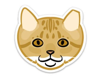 Buddy Feral Cat Sticker