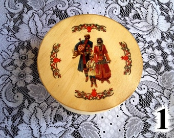 Personalized Wooden Jewelry/Gift Box with Armenian or Persian design